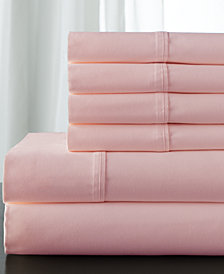 Camden Cotton 350-Thread Count 6-Pc. White California King Sheet Set
