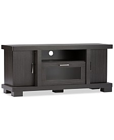 Viveka 47-Inch TV Cabinet with 2 Doors, Quick Ship
