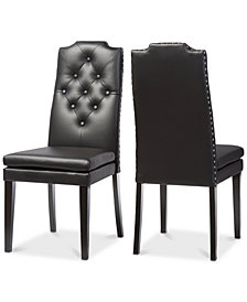 Dunxie Dining Chair (Set of 2), Quick Ship