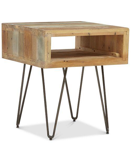 Furniture Portland End Table, Quick Ship