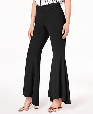 8f3ac627c12 INC International Concepts I.N.C. Flared High-Low Pants, Created for ...