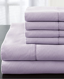 Solid 1200 Thread Count Queen Sheet Set