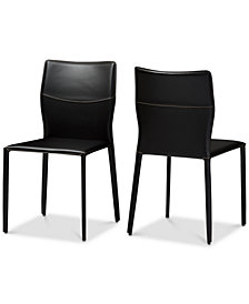 Rinnett Dining Chair (Set of 2), Quick Ship