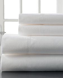 Hemstitch Cotton 400 Thread Count 4-Pc. Split King Sheet Set