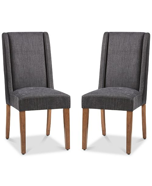 Furniture Bryson Dining Chair (Set of 2), Quick Ship