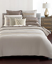 Hotel Collection Como King Duvet Cover, Created for Macy's