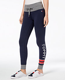 Tommy Hilfiger Graphic Drawstring Leggings, Created for Macy's