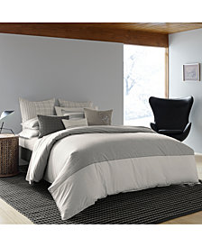 ED Ellen Degeneres Greystone Grey Full/Queen Duvet Cover