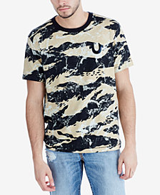 True Religion Men's Camouflage Logo Graphic T-Shirt