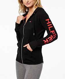 Tommy Hilfiger Graphic Zip-Front Hoodie, Created for Macy's