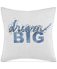 ED Ellen Degeneres Hanako Dream Big Square Decorative Pillow