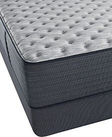 "Beautyrest Platinum Preferred Cedar Ridge 14"" Extra Firm Mattress Set- Queen Split"