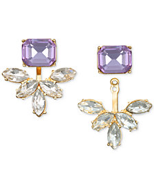 Jewel Badgley Mischka Crystal & Stone Ear Jacket Earrings