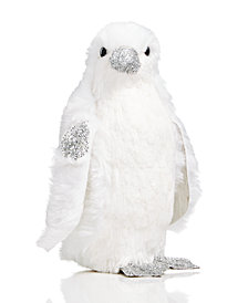 Holiday Lane Glittered Penguin Christmas Décor, Created for Macy's