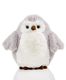 Holiday Lane Plush Owl, Created for Macy's