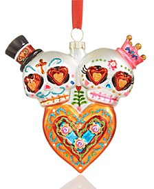 Day of the Dead Heart with Sugar Skulls Ornament Created For Macy's