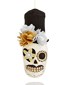 Holiday Lane Mr. Skull Head with Hat Ornament, Created for Macy's