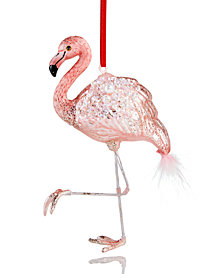 Holiday Lane Pink Flamingo Ornament, Created for Macy's