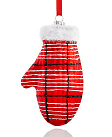 Holiday Lane Mitten Ornament, Created for Macy's