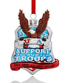 Holiday Lane Support Our Troops Ornament, Created for Macy's
