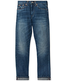 Polo Ralph Lauren Big Boys Sullivan Slim Cotton Jeans