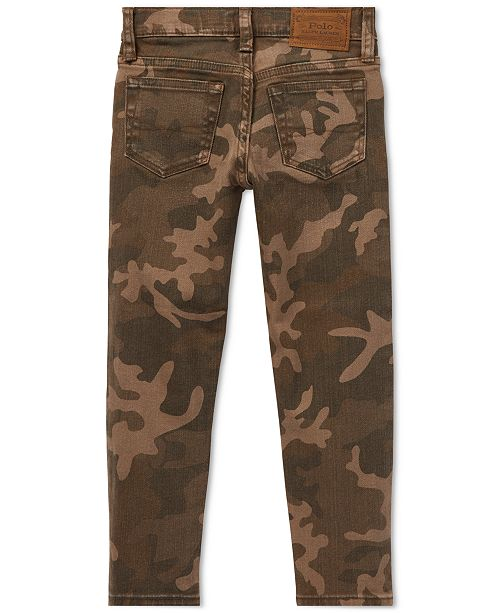 9ef893729 Polo Ralph Lauren Toddler Boys Sullivan Slim Stretch Camo Jeans ...