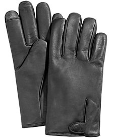 UGG® Men's Vented Leather Gloves