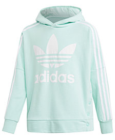 adidas Originals Big Girls Graphic-Print Hoodie