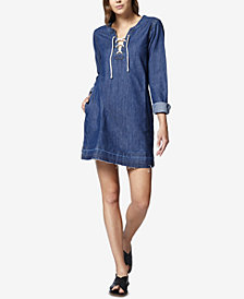 Sanctuary Faith Cotton Denim Dress