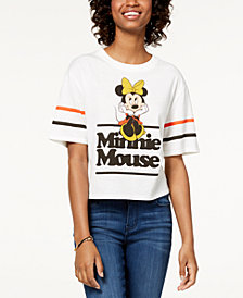 Mad Engine Juniors' Minnie Mouse Graphic T-Shirt