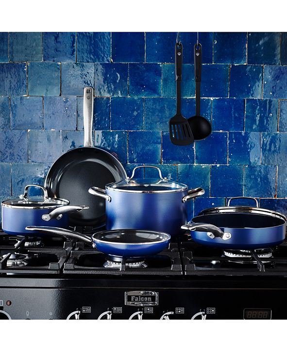 Blue Diamond As Seen on TV! 10-Pc. Cookware Set