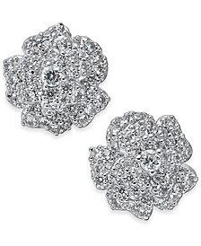 kate spade new york Crystal Flower Stud Earrings