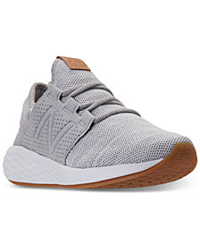 New Balance Women's Wide Width Fresh Foam Cruz V2 Running Sneakers from Finish Line