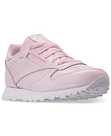 Reebok Little Girls' Classic Casual Sneakers from Finish Line