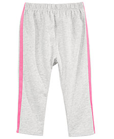 First Impressions Baby Girls Side-Stripe Pants, Created for Macy's