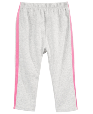 First Impressions Baby Girls SideStripe Pants Created for Macys