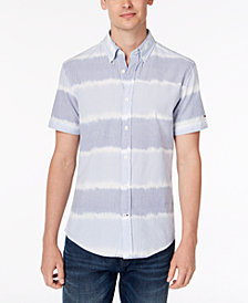 Tommy Hilfiger Men's Flynn Striped Shirt