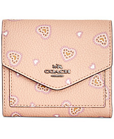 Coach wallets shop coach wallets macys coach small heart wallet reheart Image collections