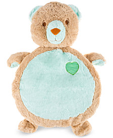 Trademark Global Happy Trails Bear Baby Play Mat/Soft Stuffed Animal Floor Cushion