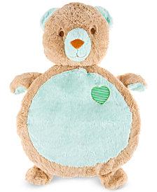 Trademark Global Happy Trails Bear Baby Play Mat/Soft Stuffed Animal Floor Cushion