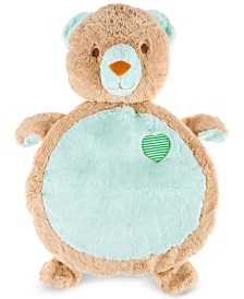"Trademark Global Happy Trails Bear Baby Play Mat/Soft Stuffed Animal Floor Cushion , 36"" x 4"" x 22"""