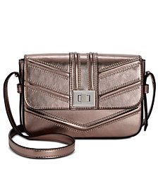 I.N.C. Marney Metallic Crossbody, Created for Macy's