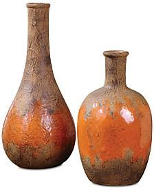 Uttermost Kadam Ceramic Vases, Set of 2