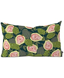 Deny Designs 83 Oranges Guava Oblong Throw Pillow
