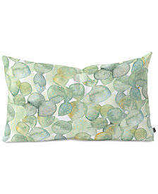 Deny Designs Dash and Ash Paddle Cactus Oblong Throw Pillow