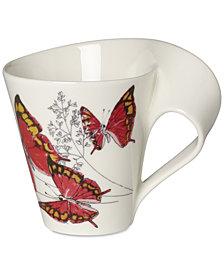 Villeroy & Boch New Wave Caffé Butterflies of the World Mug