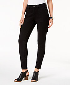 Style & Co Skinny Cargo Pants, Created for Macy's