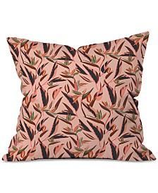 Deny Designs Holli Zollinger Anthology of Pattern Elle Bird of Paradise Pink Throw Pillow