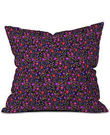 Deny Designs Joy Laforme Exotic Flora Deco Throw Pillow