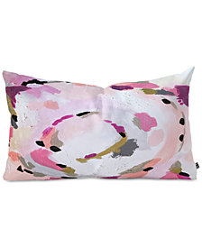 Deny Designs Laura Fedorowicz Lipstick Abstract Oblong Throw Pillow